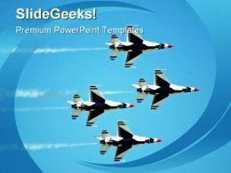 Teamwork Transportation PowerPoint Template 1110