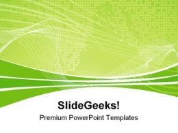 Technology Background PowerPoint Templates And PowerPoint Backgrounds 0811