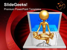 Technology Guru Internet PowerPoint Templates And PowerPoint Backgrounds 0711