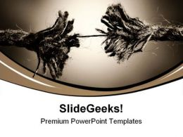Tension Toned Metaphor PowerPoint Templates And PowerPoint Backgrounds 0711