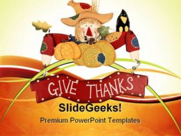 Thanksgiving Festival PowerPoint Templates And PowerPoint Backgrounds 0711