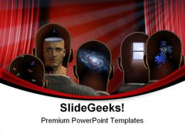 Theater Minds Entertainment PowerPoint Templates And PowerPoint Backgrounds 0711