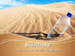 Thirst Health PowerPoint Templates And PowerPoint Backgrounds 0711
