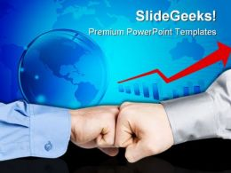 Thumbs Up Business PowerPoint Templates And PowerPoint Backgrounds 0811