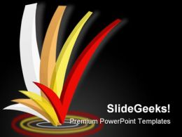 Tick Business PowerPoint Templates And PowerPoint Backgrounds 0711