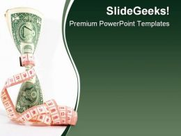 Tight Budgeting Money PowerPoint Backgrounds And Templates 1210
