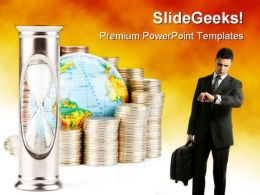 Time Is Money Business PowerPoint Templates And PowerPoint Backgrounds 0311
