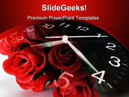 Time To Romance Wedding PowerPoint Templates And PowerPoint Backgrounds 0311