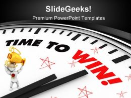 Time To Win Success PowerPoint Templates And PowerPoint Backgrounds 0211