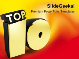 Top10 Business Metaphor PowerPoint Templates And PowerPoint Backgrounds 0311