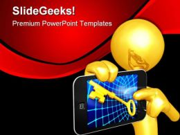 Touch Screen01 Technology PowerPoint Templates And PowerPoint Backgrounds 0611