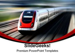 Train Series Travel PowerPoint Templates And PowerPoint Backgrounds 0811