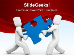 Transfer Puzzle Business PowerPoint Templates And PowerPoint Backgrounds 0711