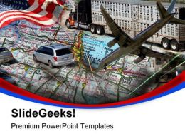 Transportation Design Technology PowerPoint Templates And PowerPoint Backgrounds 0811