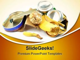 Trash And Garbage Environment PowerPoint Templates And PowerPoint Backgrounds 0511