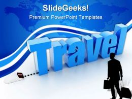 Travel Concept Business PowerPoint Templates And PowerPoint Backgrounds 0411