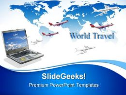Travel Conceptual Internet PowerPoint Templates And PowerPoint Backgrounds 0811