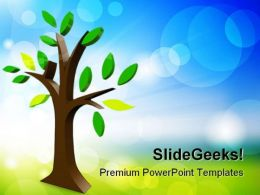 Tree Nature PowerPoint Templates And PowerPoint Backgrounds 0211