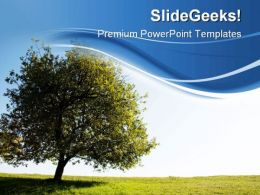 Tree Nature PowerPoint Templates And PowerPoint Backgrounds 0511