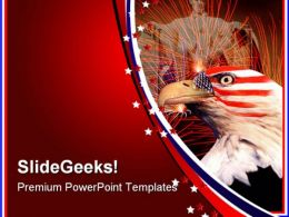 Tribute Americana PowerPoint Templates And PowerPoint Backgrounds 0911