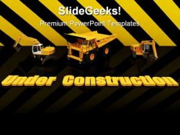Under Construction Background PowerPoint Templates And PowerPoint Backgrounds 0811