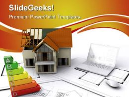 Under Construction Real Estate PowerPoint Templates And PowerPoint Backgrounds 0511