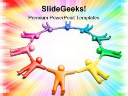 United People Global PowerPoint Templates And PowerPoint Backgrounds 0811