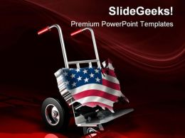 United States Delivery Americana PowerPoint Templates And PowerPoint Backgrounds 0511