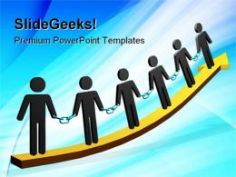 Unity People PowerPoint Templates And PowerPoint Backgrounds 0911