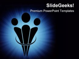 Unity Symbol PowerPoint Templates And PowerPoint Backgrounds 0711