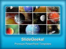 Universe Geographical PowerPoint Templates And PowerPoint Backgrounds 0711
