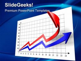 Up Chart Arrows Business PowerPoint Templates And PowerPoint Backgrounds 0111