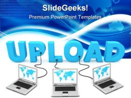 Upload Computer Network PowerPoint Templates And PowerPoint Backgrounds 0111
