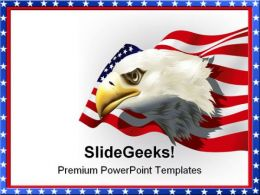 Us Patriotic Theme Americana PowerPoint Templates And PowerPoint Backgrounds 0811