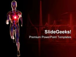 Vascular System Science PowerPoint Templates And PowerPoint Backgrounds 0711