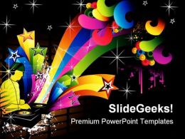 Vector Composition Music PowerPoint Templates And PowerPoint Backgrounds 0611