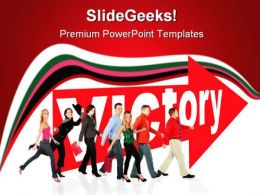 Victory Business PowerPoint Templates And PowerPoint Backgrounds 0611