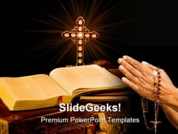 Vintage Missionary Religion PowerPoint Templates And PowerPoint Backgrounds 0211