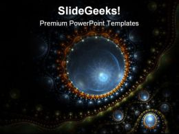 Virus Microorganism Geographical PowerPoint Templates And PowerPoint Backgrounds 0711
