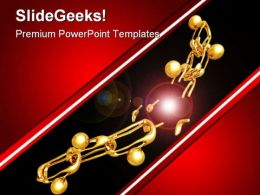 Weakest Link Business PowerPoint Templates And PowerPoint Backgrounds 0811