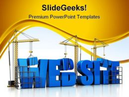 Website Internet PowerPoint Templates And PowerPoint Backgrounds 0511