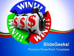Win Game PowerPoint Templates And PowerPoint Backgrounds 0911
