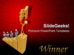 Winner01 Competition PowerPoint Templates And PowerPoint Backgrounds 0711