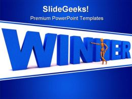 Winner People Business PowerPoint Background And Template 1210