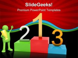 Winner Sports PowerPoint Templates And PowerPoint Backgrounds 0411