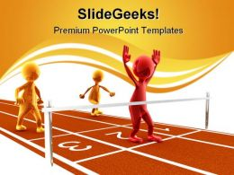 Winner Sports PowerPoint Templates And PowerPoint Backgrounds 0611