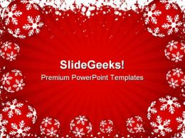 Winter Background Holidays PowerPoint Templates And PowerPoint Backgrounds 0811