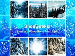 Winter Collage Holidays PowerPoint Templates And PowerPoint Backgrounds 0811