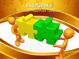 Working Together Communication PowerPoint Templates And PowerPoint Backgrounds 0411