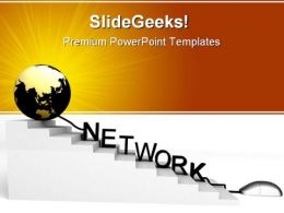 World And Network Mouse PowerPoint Templates And PowerPoint Backgrounds 0211